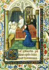 South Africa, Capetown, National Library of South Africa, Last sacrament,  from a  14th century Book of Hours