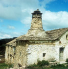 Bakery of old farmhouses near Jaca, Huesca Province, Spain
