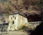 Monastery of San Juan de la Pena, eleventh century,  cloisters twelfth century, near Jaca, Spain