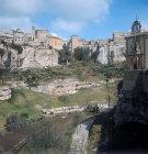 Cuenca, north east quarter of old city, Castilla-La Mancha, Spain