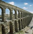 Roman aqueduct, second century, Segovia, Spain