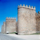 Central sector of the west wall, Avila, Spain