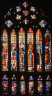 North nave clerestory window 29, fifteenth century, Toledo Cathedral, Spain