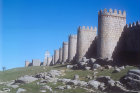 Western section of north wall, Avila, Spain