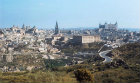 Southern part of city, Alcazar and Cathedral, Toledo, Spain