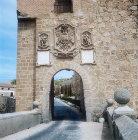 Part of bridgehead of San Martin bridge, thirteenth to fourteenth century, Toledo, Spain