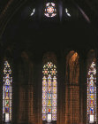 Apse window, Barcelona Cathedral, Spain