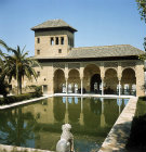 Spain, Granada,  in the gardens of the Alhambra