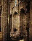 Interior of Church of Santa Maria del Mar, fourteenth century, Barcelona, Spain