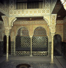 Spain, Granada, the Alhambra 14th century, Sala de Las Camas, leisure room adjoining the baths