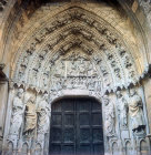 Leon Cathedral, south doorway at west end of nave, thirteenth century, Leon, Spain