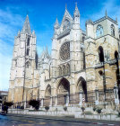 Leon Cathedral, south façade, thirteenth century to fifteenth century, Leon, Spain