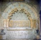 Tomb of Bishop Rodrigo, by Zamosa, sixteenth century, Leon Cathedral, Leon, Spain