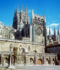 Burgos Cathedral, south aspect, thirteenth century to sixteenth century, Burgos, Spain