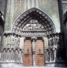 South portal, Puerta del Sarmental, thirteenth century, Burgos Cathedral, Burgos, Spain