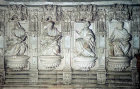 Saints, seventeenth century high relief, Burgos Cathedral, Burgos, Spain