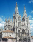 Burgos Cathedral, west aspect, thirteenth century to fifteenth century, Burgos, Spain