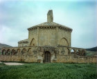 Saint Mary of Eunate, twelfth century octagonal church, near Pamplona, Spain