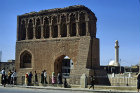 Syria, the Bab Baghdad gateway at Rakka