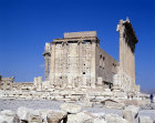 Syria, Palmyra, the cella of the Temple of Bel