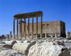 Syria, Palmyra, the Temple of Bel, cella and columns