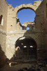 Syria, Rasafa, inside the nave of the Basilica of St Sergius