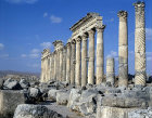 Syria, Apamea, Roman colonnaded street
