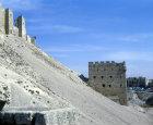 Alepppo, the citadel, Syria.