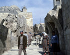 Syria, Aleppo, inside the citadel
