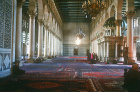 Syria, Damascus, interior of the Ommayad (Great Mosque ) which dates from the 8th century