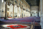 Omayyad Mosque, interior, which dates from eighth century, Damascus,Syria