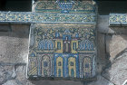 Syria, Damascus, Ommayed Mosque, detail of mosaic