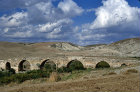 Syria, 30 miles north west of Cyrrhus, Roman Bridge over the river Afrin