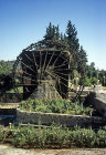 Water wheel on the river Orontes, Hama, Syria