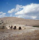 Syria, 12 miles north west of Afrin, Roman bridge spanning the Sabun Suyu a tributary of the river Afrin
