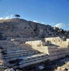 Syria, Cyrrhus, flight of steps leading to the Acropolis