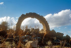 Syria, Cyrrhus, ruined Roman arch