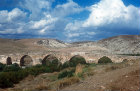 Syria, 30 miles north west of Cyrrhus Roman bridge with 6 arches over River Afrin