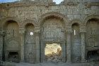Syria, north gate of white gypsum stone, one of the main entrances to Rasafa