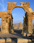 Syria, Palmyra, triumphal arch