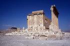 Cella, exterior, temple of Bel, Palmyra, Syria