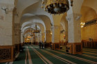 Aleppo, Syria, Great Mosque (interior), founded circa 715 by Caliph Walid I on site of Byzantine cathedral of St Helen burnt 1169, rebuilt by Ayyubid Nur-ad-Din