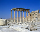 Syria, Palymra, the Temple of Bel