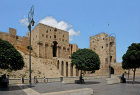 Aleppo, Syria, Ayyubid and Mamluk periods, entrace gateway of Citadel