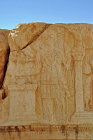 Temple of Bel, relief carving (AD 32) showing sun god Aglibol sacrificing, Palmyra, Syria