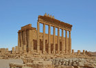 Temple of Bel (first to second century AD), view of cella from the south west, Palmyra, Syria