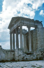 Temple of Jupiter, Juno and Minerva, second century AD, Dougga, ancient Thugga, Tunisia