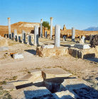 Roman temple converted into church 6th century AD, Thuburbo Majus, Roman city begun 27 BC, Tunisia