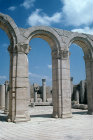 Roman baths, Maktar (ancient Mactaris) Tunisia