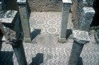 Mosaic floor of underground Roman villa known as the Palais de la Chasse (Palace of the Hunt) Bulla Regia, Tunisia